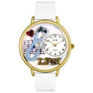 LPN Watch Gold LVN RPN Nurse Medical Clock Gif New Uniq  EE Jewelry