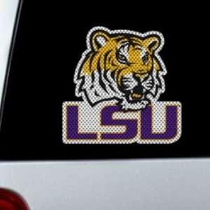 LSU Tigers Die Cut Window Film   Large