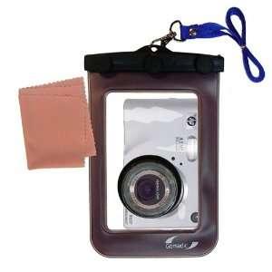 Gomadic Clean n Dry Waterproof Camera Case for the HP PhotoSmart R607