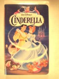 Walt Disney Masterpiece Cinderella VHS Tape 786936526530