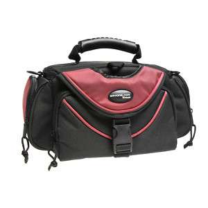NEW AB 006RD AMVONA LARGE DIGITAL CAMERA BAG
