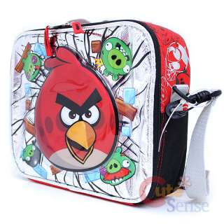 Angry Bird School Backpack Lunch Bag Red Bird Pig 6