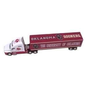 Oklahoma Sooners 1:80 Scale Die Cast Tractor Trailer