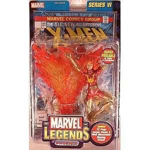 Marvel Legends Series 6  Dark Phoenix action figure Toys