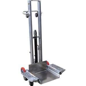 Vestil Aluminum Low Profile Lite Load Lift with Foot Pump