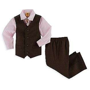 Toddler Boys Vest, Pant, Pink Shirt, Tie Dresswear Set  Steve Harvey