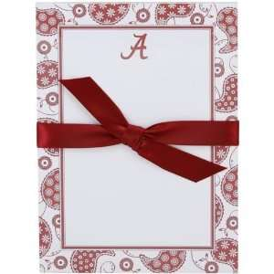 NCAA Alabama Crimson Tide Paisley Notepad