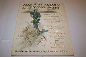 MAY 23 1903 SATURDAY EVENING POST magazine HARRISON FISHER