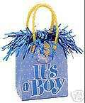 BABY SHOWER Party Its a Boy Gift Bag Balloon Weight
