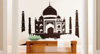 Vinyl Wall Decal Sticker Taj Mahal 2 Silhouette India
