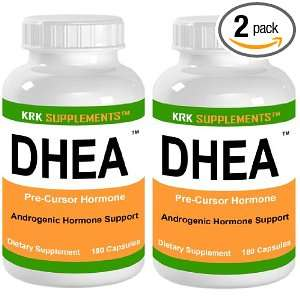 Dehydroepiandrosterone Mass KRK SUPPLEMENTS Health & Personal Care