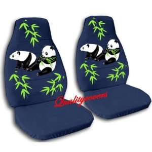 2 navy blue Panda bear car seat covers, for a 2003 Ford