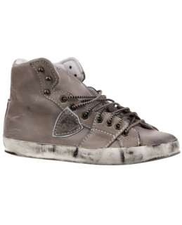 Philippe Model Distressed High Top Trainer   L'Eclair   farfetch