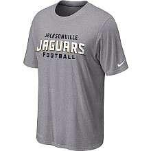 Nike Jacksonville Jaguars Sideline Legend Authentic Font Dri FIT T