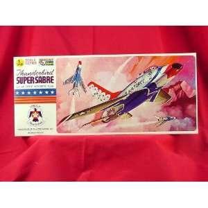 Hasegawa Thunderbird Supersabre 1/72 Scale Model Kit #1 Toys & Games