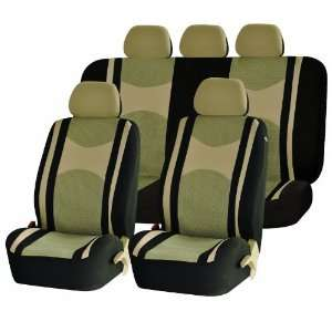 Universal Car Seat Cover Full Set Front Airbag Airbags Ready & Rear
