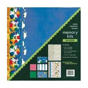 Memory 12 Inch by 12 Inch Page Kit, Vacation Arts, Crafts & Sewing