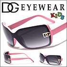 Children DG Eyewear Designer Fashion Sunglasses Girls Ages 2 12 New