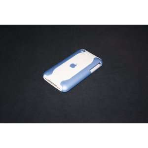 Apple iphone 3G 3GS Hard Cover Case(Blue/White) Cell