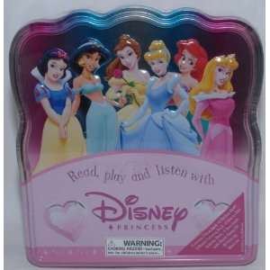 Read, Play and Listen with Disney Princesses Activity