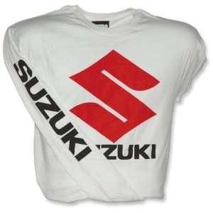 Metro Racing Suzuki Rocket Racing Jersey , Color White