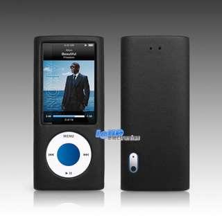 Apple iPod Nano 5G Leder Schutzhülle Tasche Hülle +Band