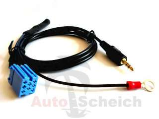 AUX IN Interface Adapter Kabel VW Alpha Beta Gamma Premium MCD MFD