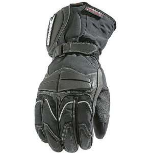 Joe Rocket Rush Mens Leather Street Motorcycle Gloves   Black / X