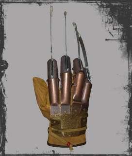 Freddy Krueger Nightmare on Elm Street   1984 Replica Prop Handschuh