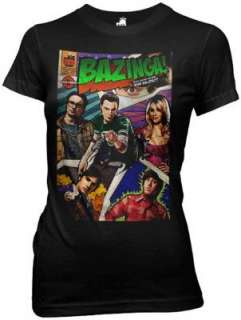Choose From Big Bang Theory Officially Licensed Junior T Shirt Soft