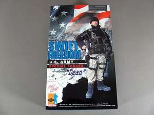 Dragon Action Figure Swift Freedom U.S. Army Special Forces Dean
