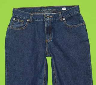 Arizona sz 16 x 30 Womens Blue Jeans Denim Pants HD60