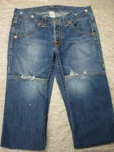 Authentic TRUE RELIGION Jeans STRAIGHT Denim Mens size 34