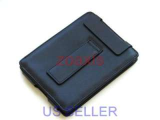 Black Leather Case Cover stand for Sony PRS 350 Reader
