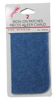 Iron On Patches Light Blue Denim Jean Repair #1306 02 062532130624