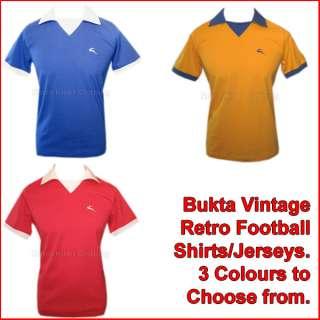 Bukta Vintage Retro Football Jersey Shirt George Best