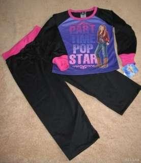 HANNAH MONTANA *PT Pop Star* L/S Shirt Pajamas 7/8 NW