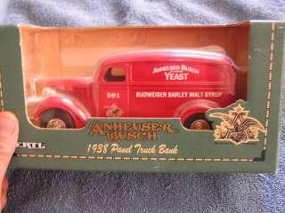 1938 Panel Truck Bank ERTL Anheuser Busch