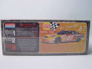 Monogram Joe Nemechek 87 Burger King Race Car Model Kit