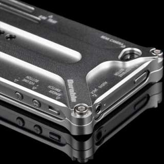 Transformers Bumper Metal Case Cover For Apple iPhone 4 4S Silver