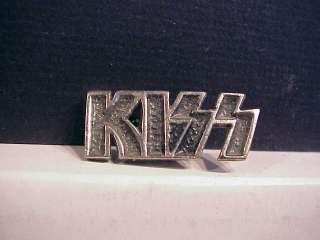 1992 Kiss Band Metal Tour Concert Pin Button Badge
