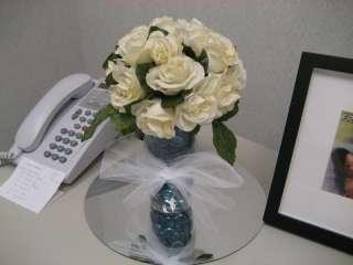 Rose Bouquet WEDDING Centerpieces Bridal Bridesmaid 18 21 Roses 7
