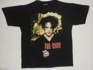 The Cure Robert Smith Goth Rock T Shirt Size L