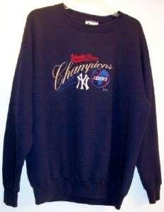 NEW YORK YANKEES 1998 WORLD SERIES CHAMPIONS SWEATSHIRT