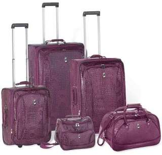 Heys Travel Concepts  CROCO Luggage Set PURPLE