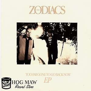 Zodiacs Too Far Gone EP Twisted Rockabilly & Surf (Cramps, Wild