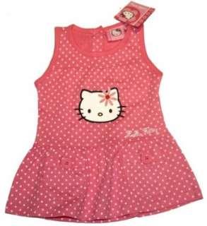 HELLO KITTY   Süsses Baby Kleidchen   pink  Bekleidung