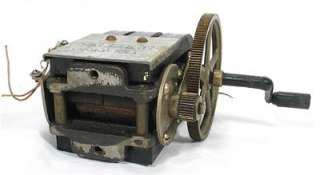 Antique Kellogg Telephone Working Hand Crank Phone Magneto