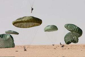 Army Parartoopers 82nd Airborne Al Asad Airbase Iraq