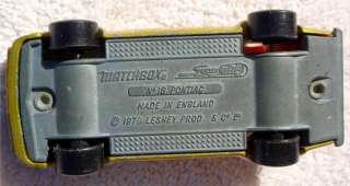 Firebird Trans Am diecast 1979 Lesney Matchbox Superfast #16 70s